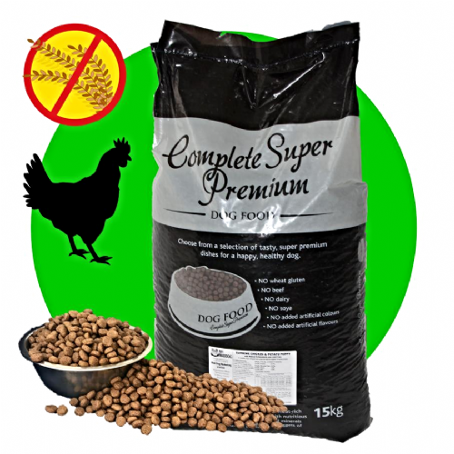 15kg Supreme Chicken & Potato - Hypoallergenic - Complete GRAIN FREE Dog Food